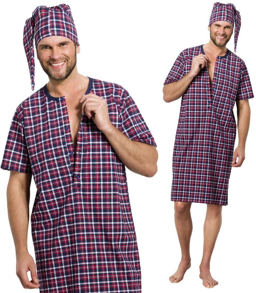 008 1 Filip Taro rozpinana koszula męska szlafmyca Ceny i