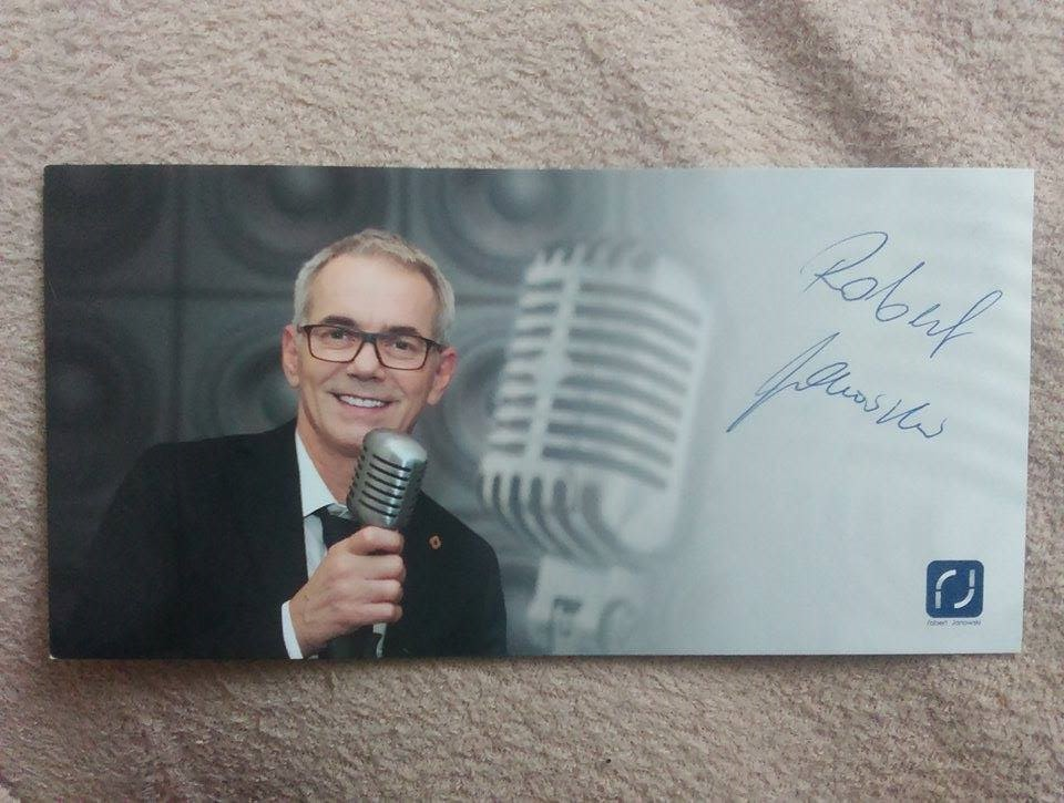 Robert Janowski - autograf!