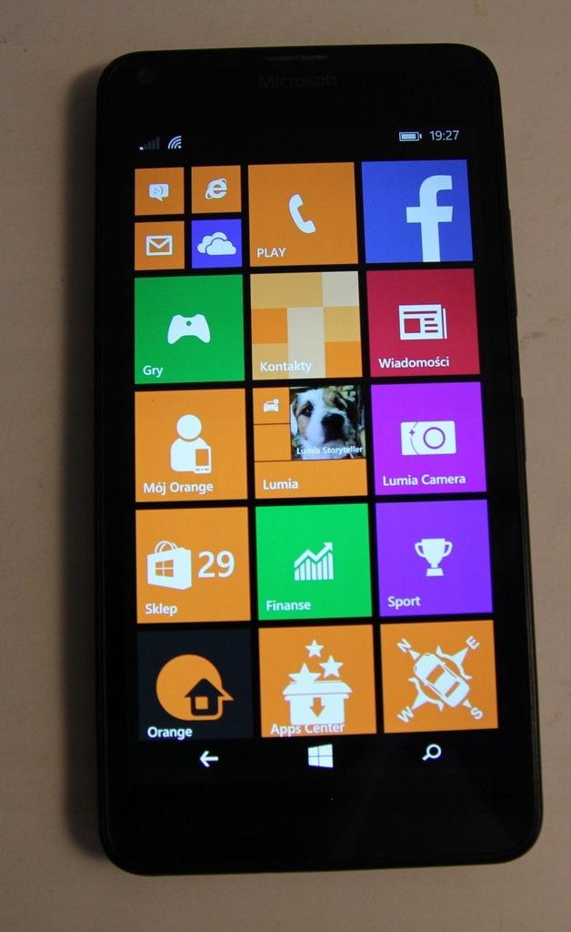 Smartfon Microsoft Lumia 640 czarny