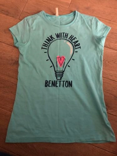 Tshirt benetton 2xl 160 cm jak nowe