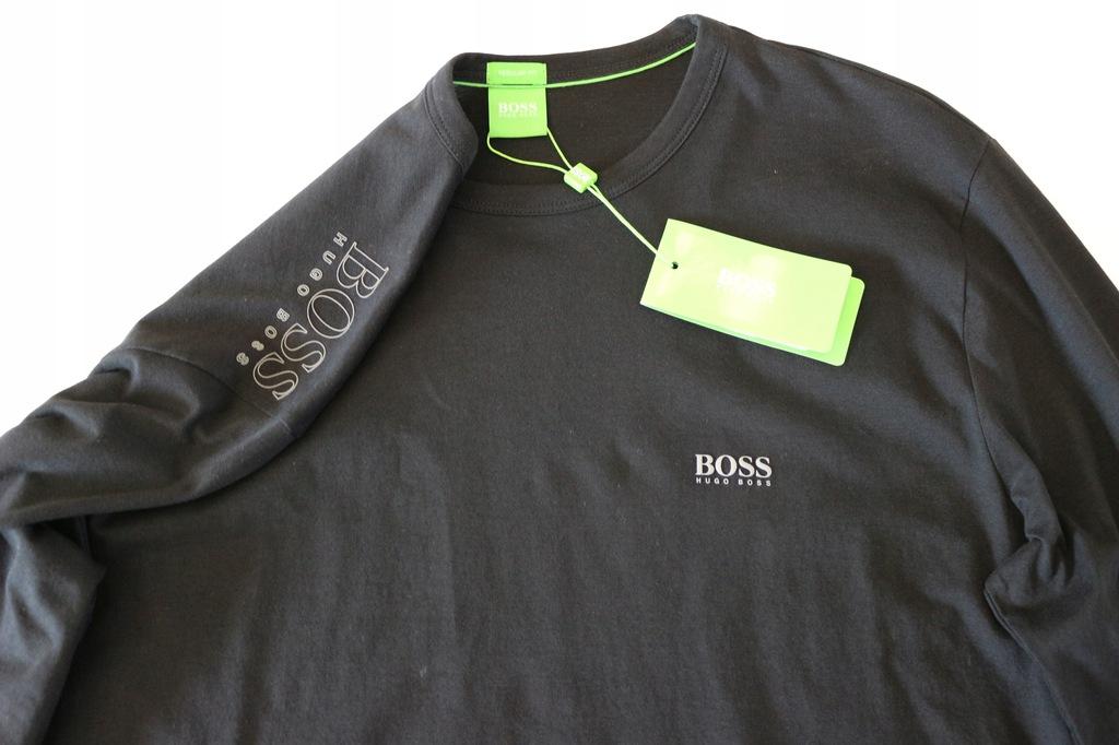 Hugo Boss Green longsleeve rozm L Oryginalny