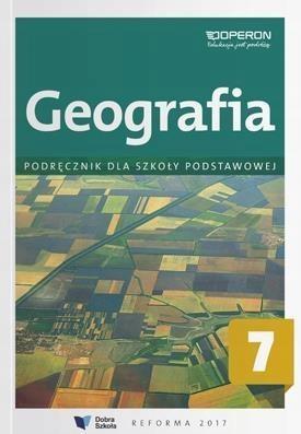 Geografia SP 7 Podręcznik OPERON +ZAKŁADKA