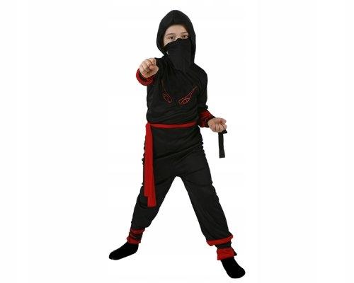 Atosa 70283 Ninja Red Black Costumes Around The Wo
