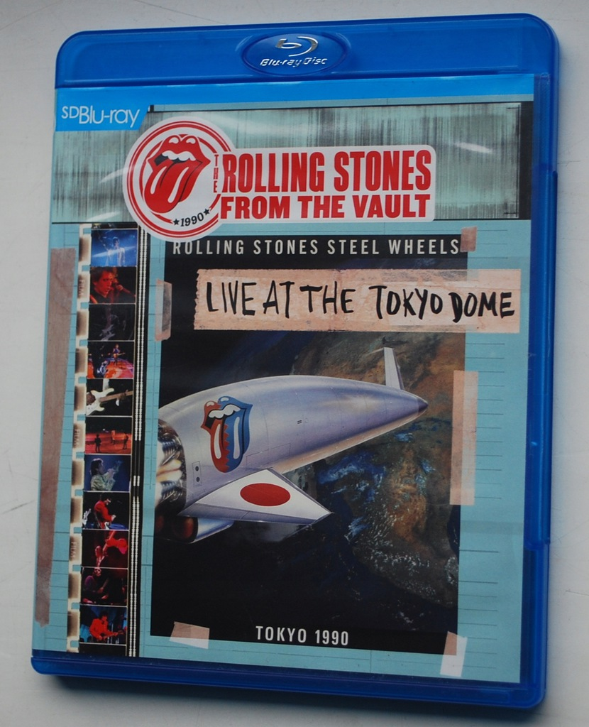 The Rolling Stones Live At The Tokyo Dome BLU-RAY