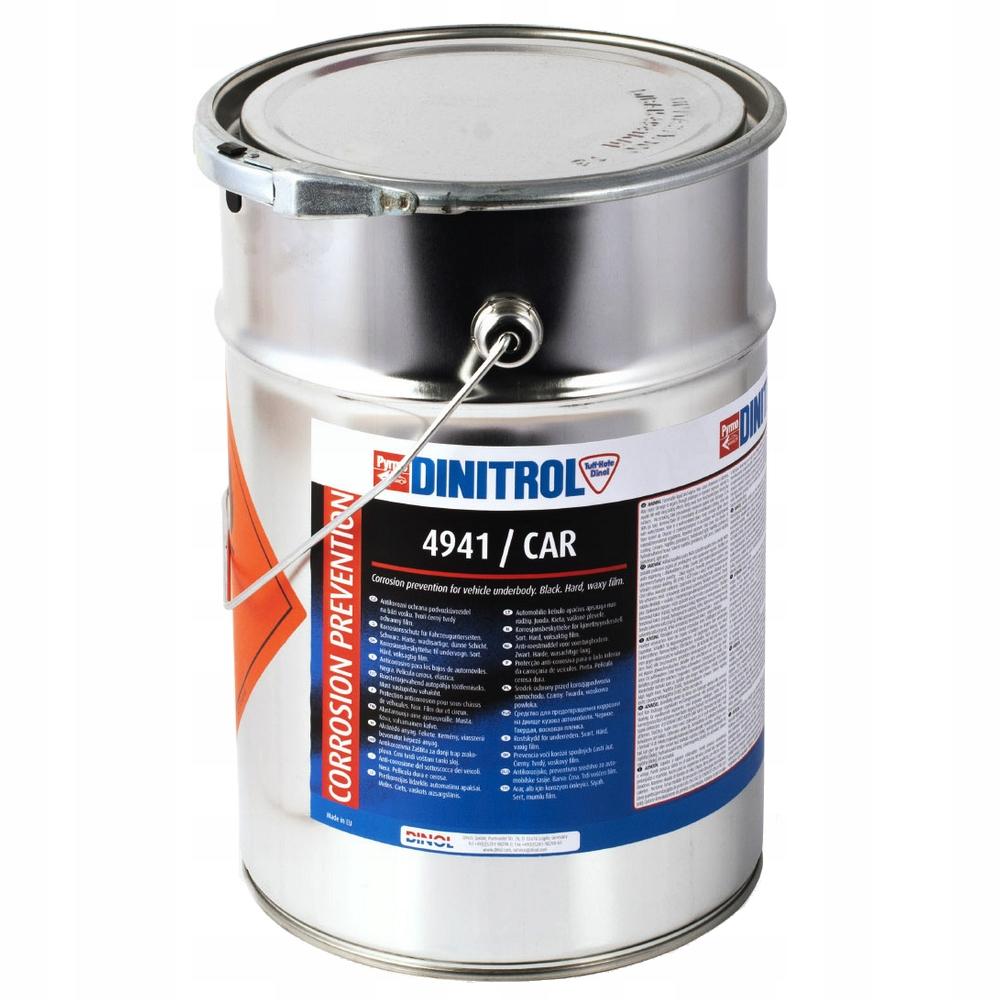 Konserwacja podwozia DINITROL 4941 wosk czarny 5L