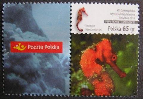 Fi 4569 - luzak, Ryby z przyw. Poczta Polska