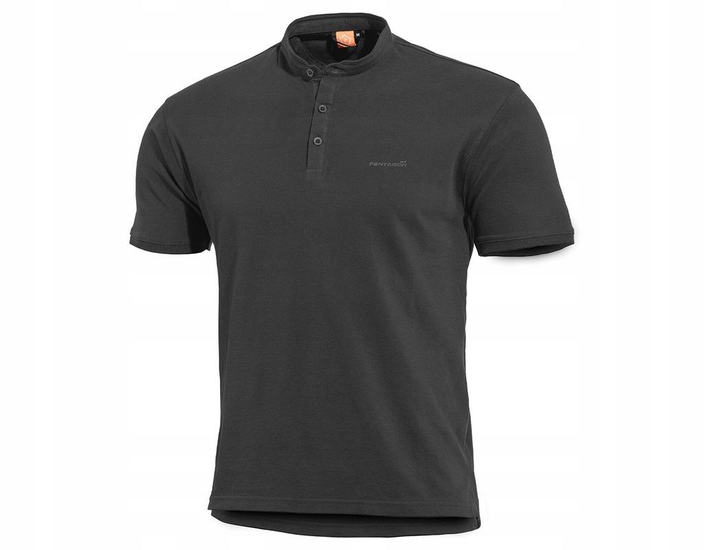 Koszulka T-Shirt Pentagon Levantes Henley Blk 3XL