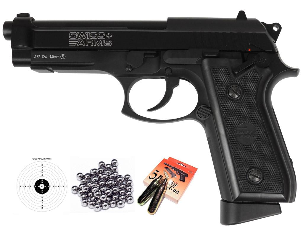 PISTOLET WIATRÓWKA Beretta P92 GSG ASG BLOW BACK