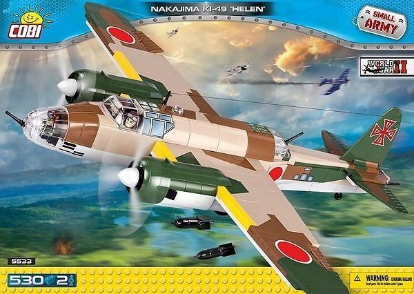 SMALL ARMY 530 elementów Nakajima Ki-49 Helen