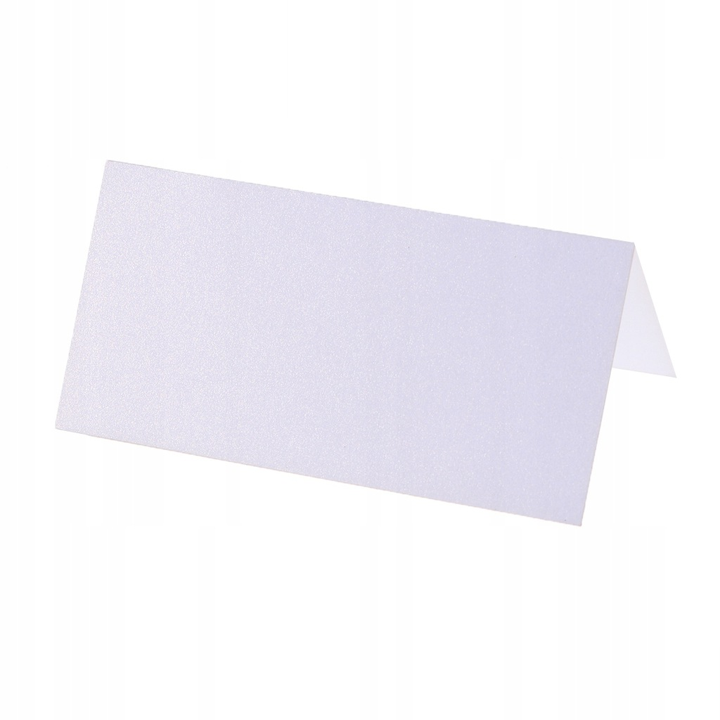 80pcs Wedding Table Name Card Simple Blank Name Ca