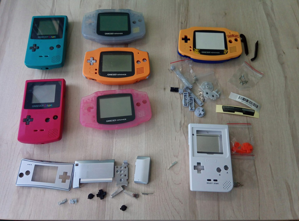 Game Boy OBUDOWY
