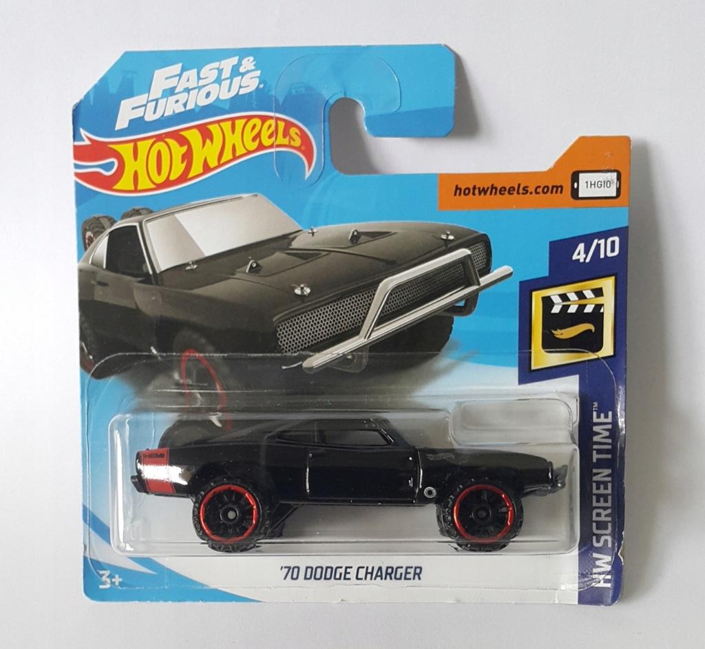 Hot Wheels 70 Dodge Charger Szybcy I Wsciekli 8288930866 Oficjalne Archiwum Allegro