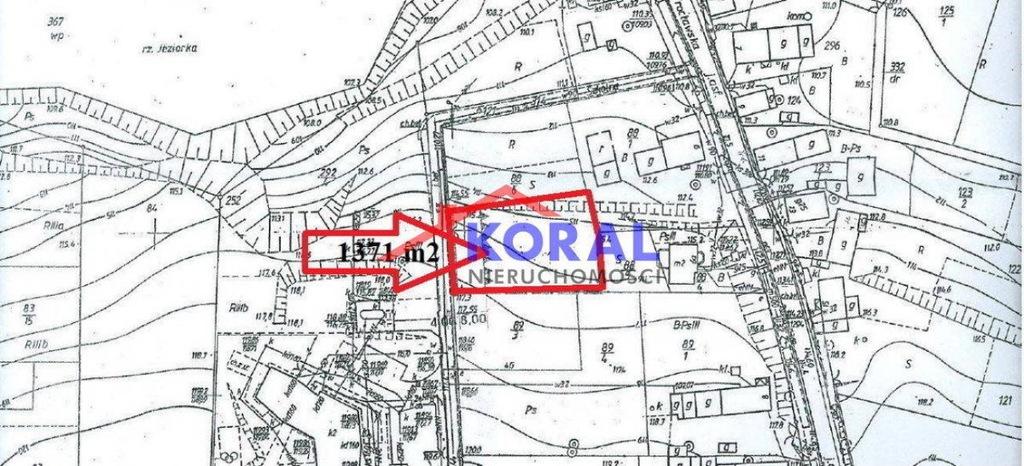 Działka, Piskorzowice, Miękinia (gm.), 1371 m²