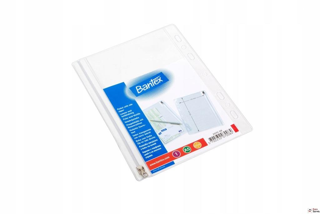 Koszulki na suwak BANTEX A4 (10szt) 140mic 1005500