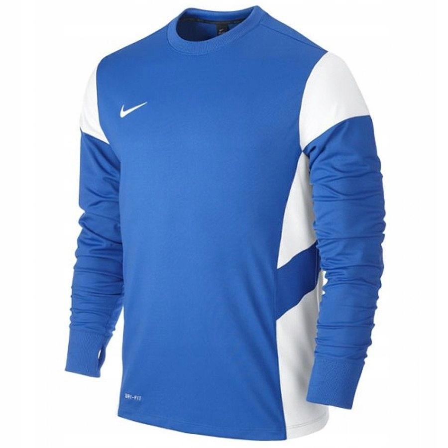 Bluza Nike Junior Midlayer Boys 588401 L niebieski