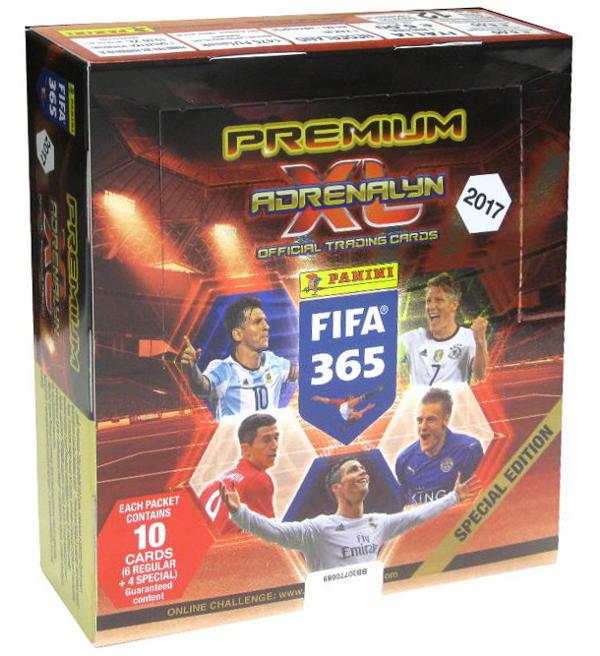 Fifa 365 2017 Karty Saszetka X 12 Premium Box 6685779723 Oficjalne Archiwum Allegro