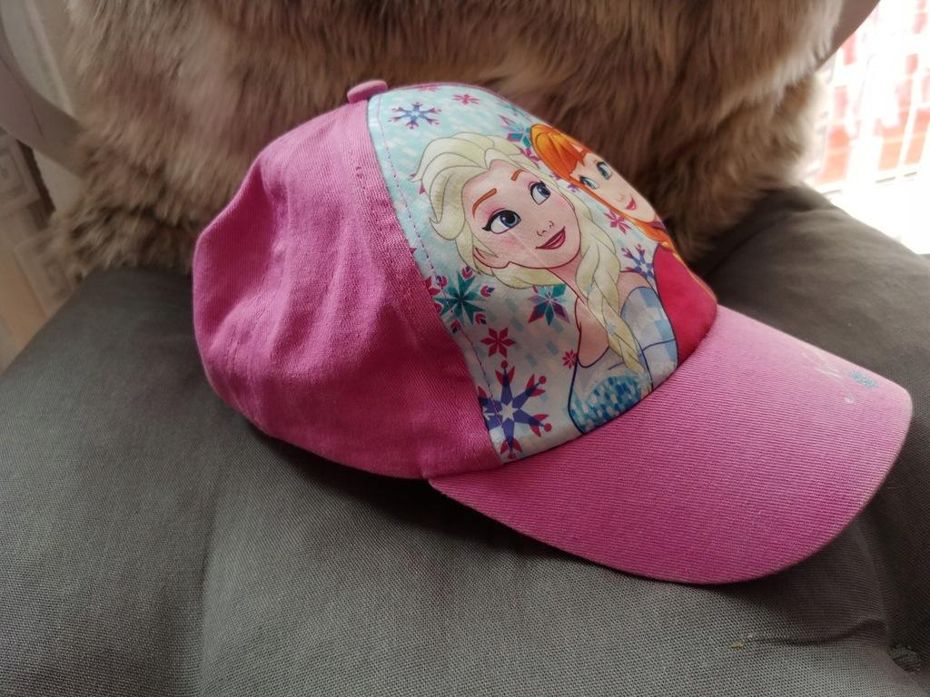 Disney Frozen czapka z daszkiem 52cm bdb