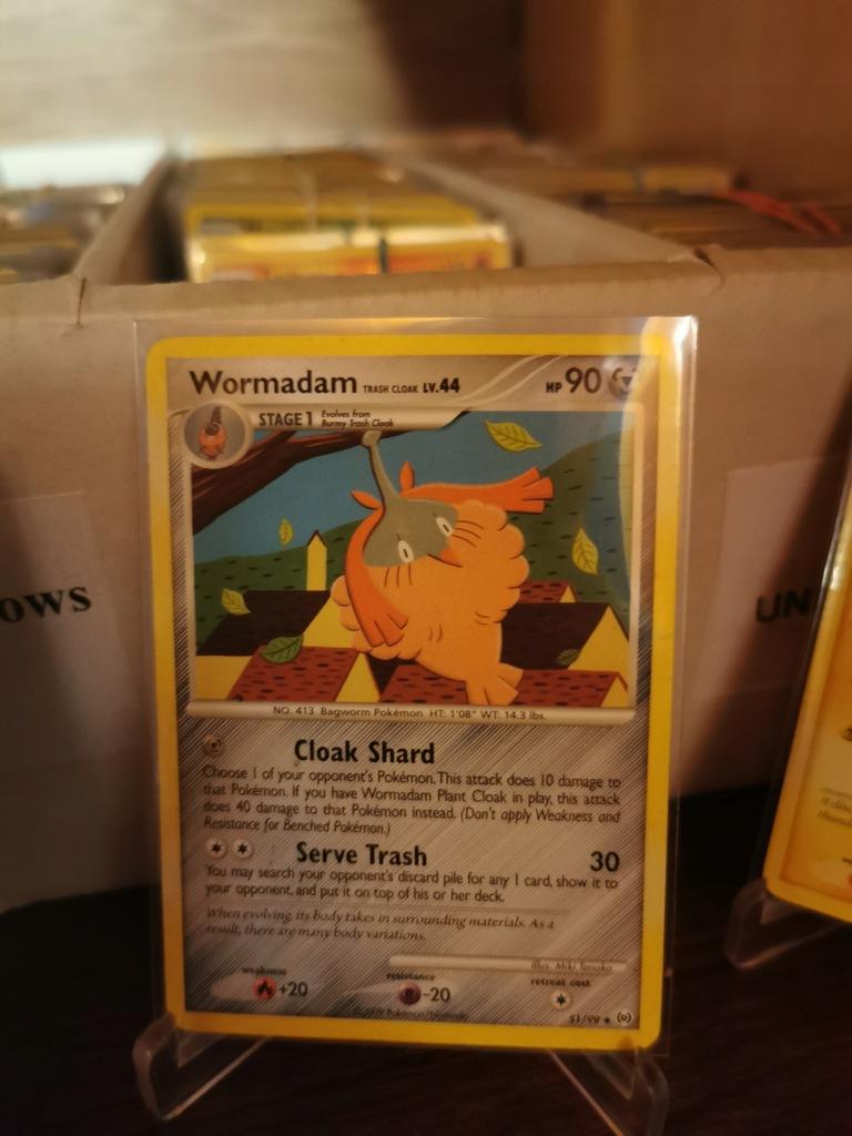 Wormadam - 51/99 - Uncommon $$