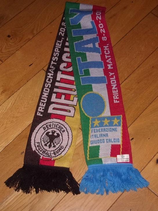 szalik kibica mecz Niemcy - Włochy 20.08.2003 rok
