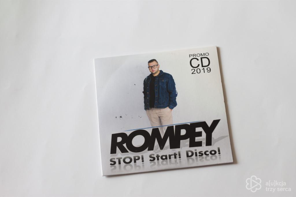"""ROMPEY - Płyta """"STOP! Start! Disco!"""" z AUTOGRAFEM"""