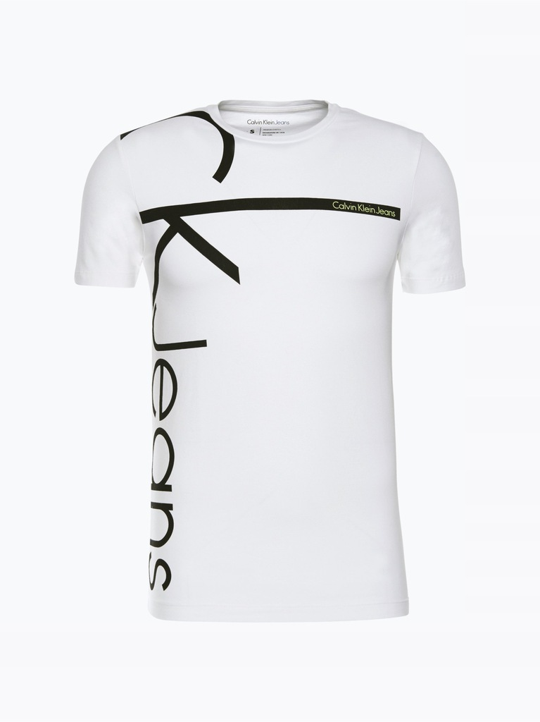 Calvin Klein Jeans T shirt męski, biały