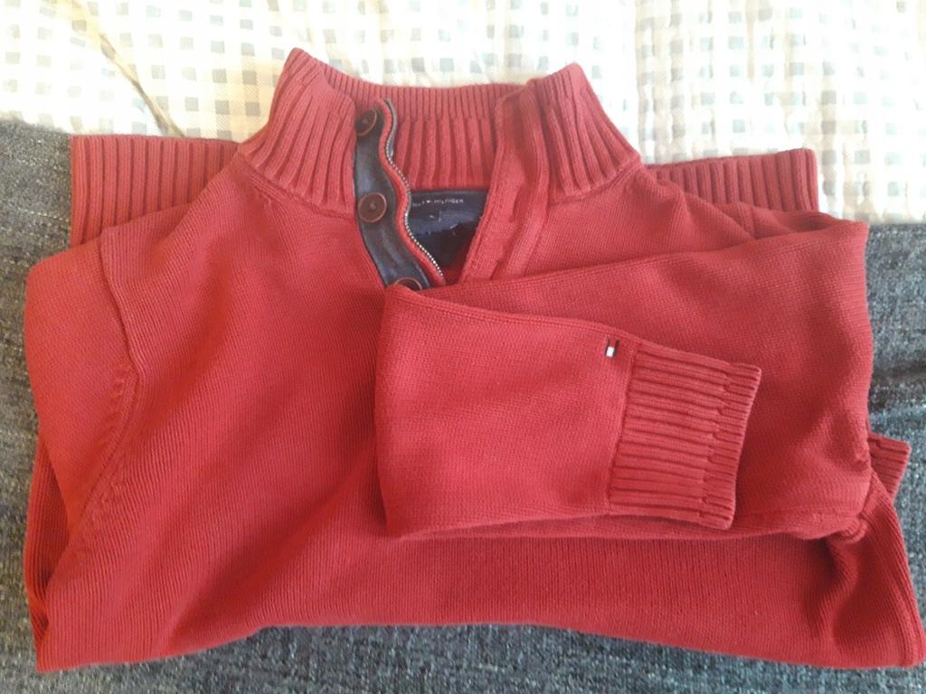 Sweter Tommy Hilfiger rozmiar L