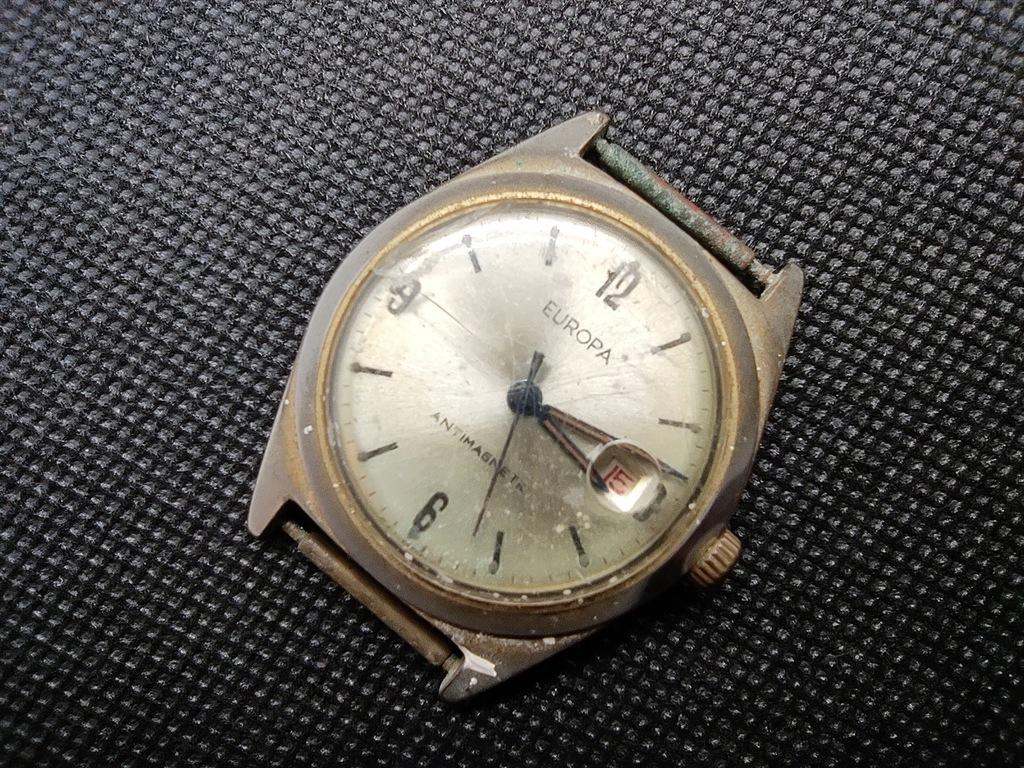 Zegarek Europa naprawa.