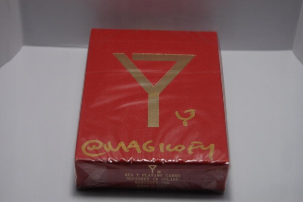 Limitowane Karty Y V3 Czerwone Magic Of Y Autograf 7873437643 Oficjalne Archiwum Allegro