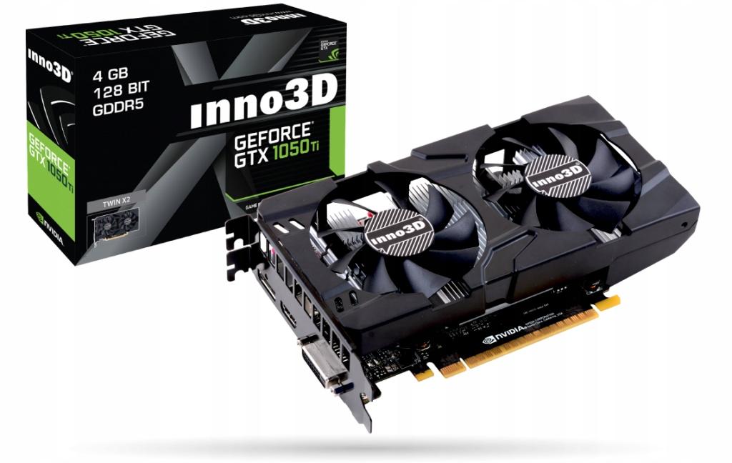 Inno3D GeForce GTX 1050 Ti 4GB TWIN X2 FV GWAR