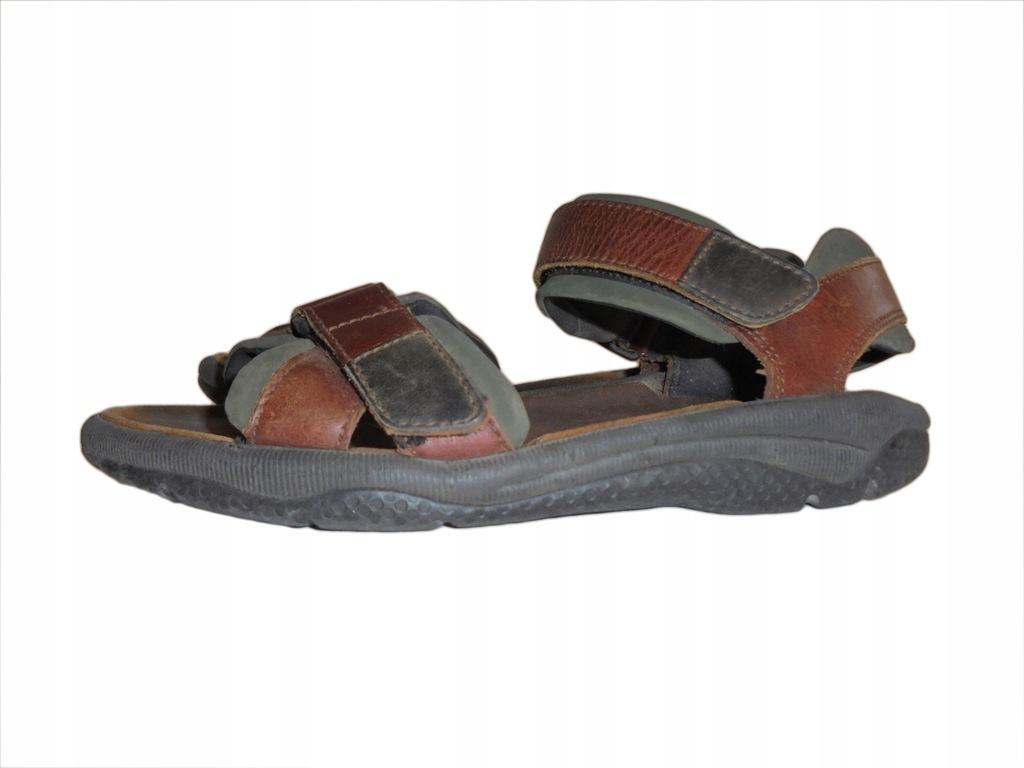 Skórzane sandały Clarks. Stan idealny. Rozmiar 40.
