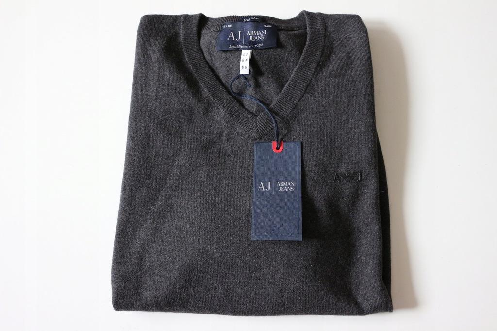 Armani Jeans sweter rozm L Łódź mega wyprzedaż