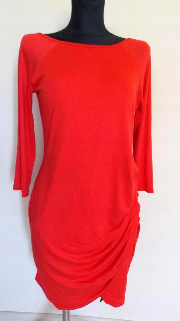 BOOHOO**czerwona nowa sukieneczka **38`