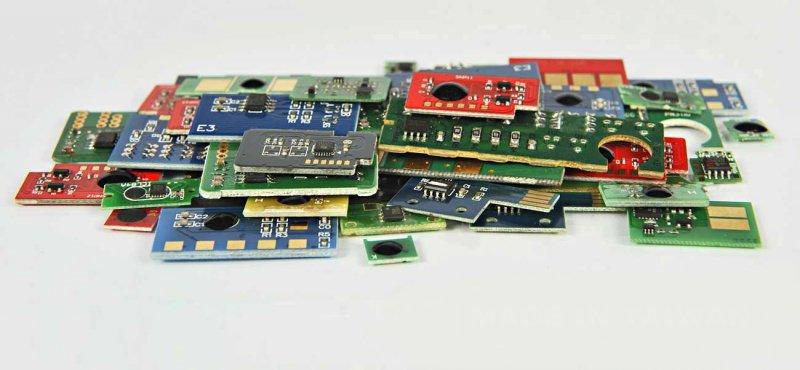 Chip Czarny HP CE250X