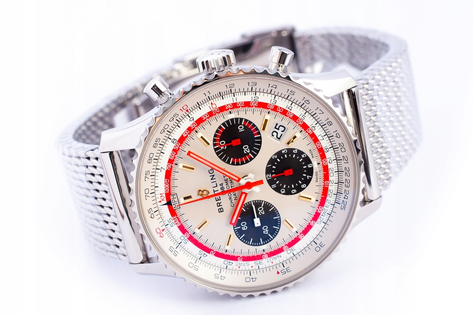 BREITLING NAVITIMER 1 B01 AB01219 COSC NOWY/KPL.