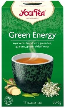 YOGI TEA GREEN ENERGY AJURWEDYJSKA HERBATKA