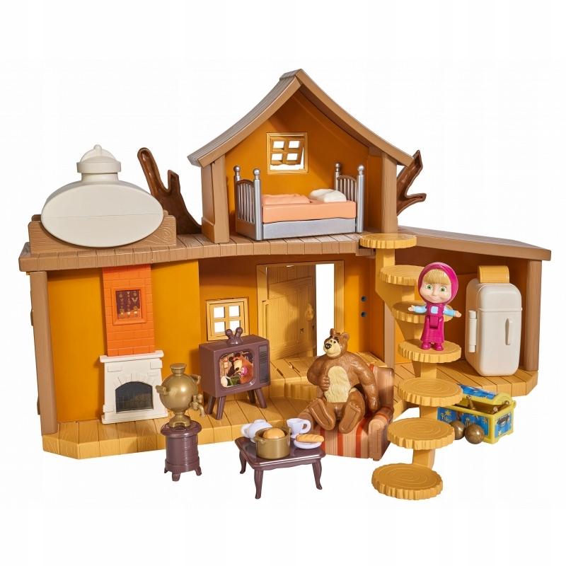 Simba Masza i Niedźwiedź Dwupoziomowy dom
