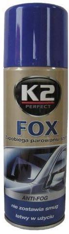 K2 FOX ZAPOBIEGA PAROWANIU SZYB 200ML ANTY PARA