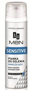 AA Men Sensitive Pianka do golenia nawilżająca