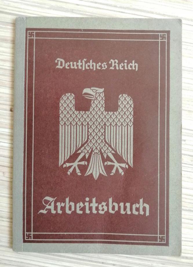 Niemiecka książeczka Arbeitsbuch