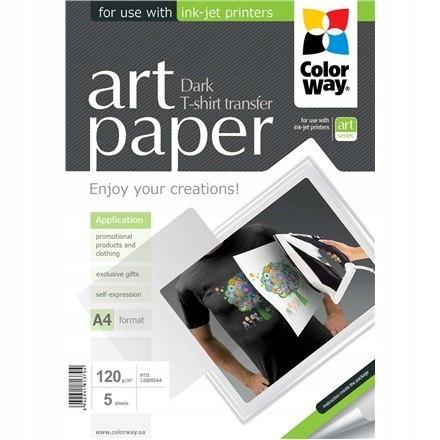 ColorWay ART T-shirt transfer (dark) Photo Paper,