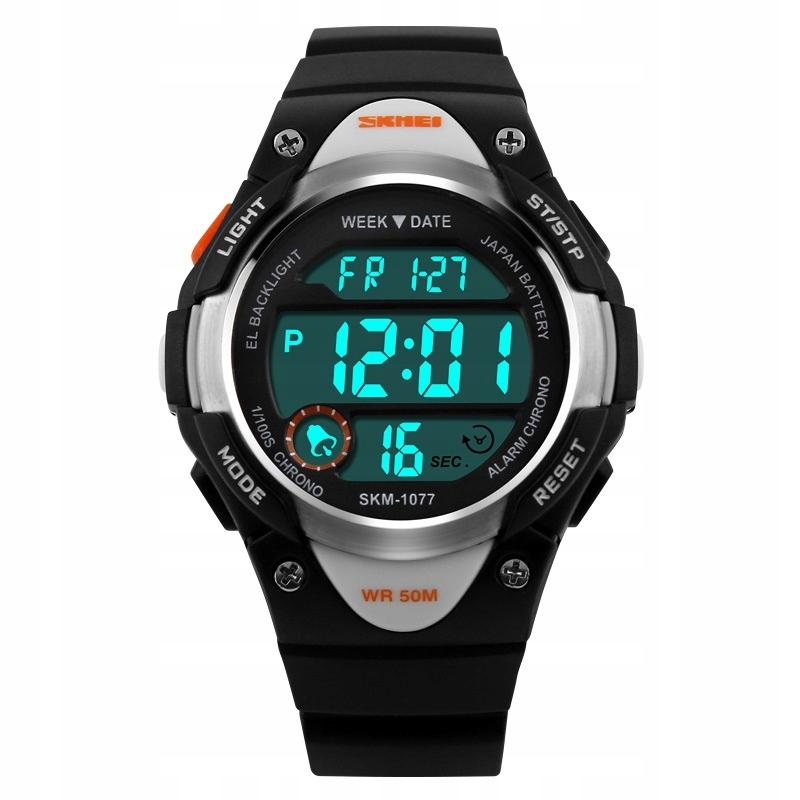 Zegarek dziecięcy elektroniczny - SKMEI - 3 kolory