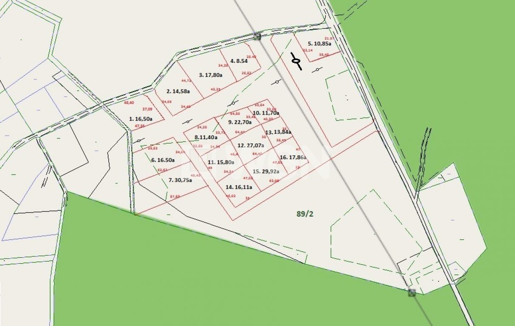 Działka, Rogi, Lubniewice (gm.), 65414 m²