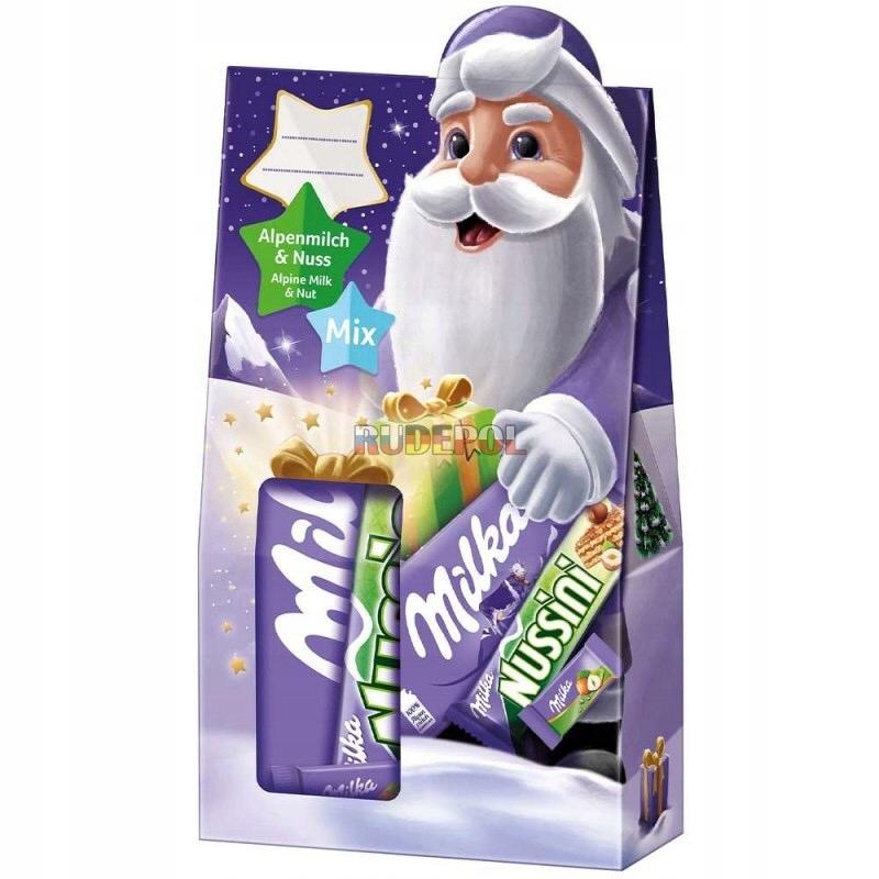 Milka Zestaw ze Słodyczami Świątecznymi 163g
