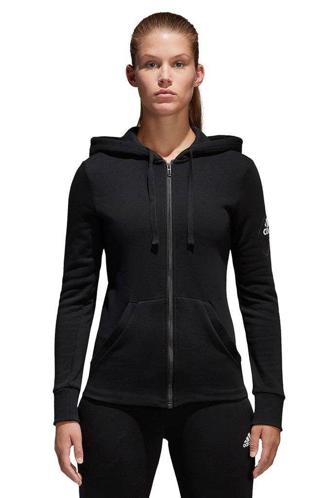 Bluza damska adidas ESS SOLID FZ HD S97085 r. XS