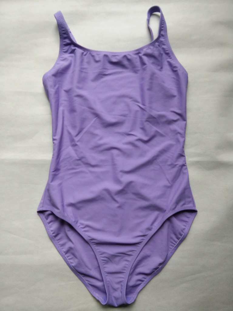 Strój kąpielowy kostium damski fioletowy 38