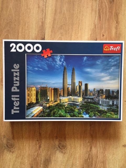 Trefl Puzzle 2000. Kuala Lumpur – Twin Towers