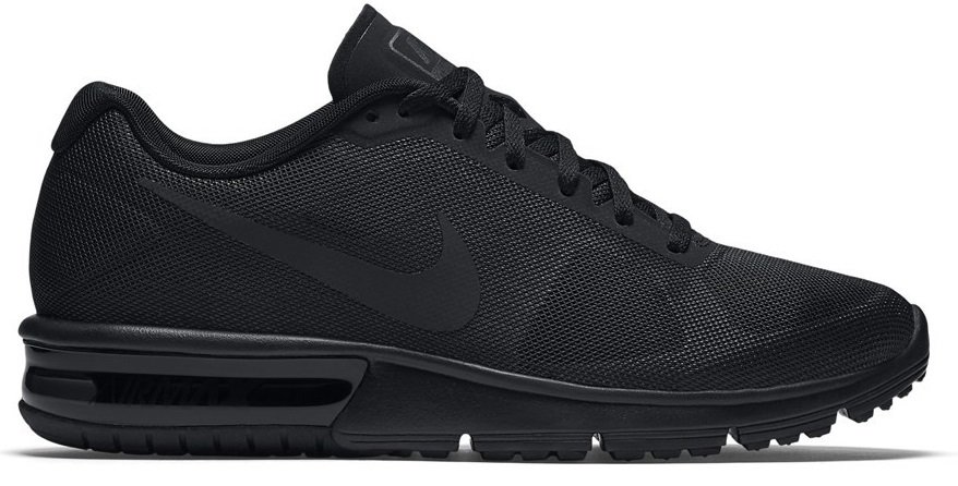 NIKE WMNS AIR MAX SEQUENT 38,5 CZARNE BUTY SKLEP