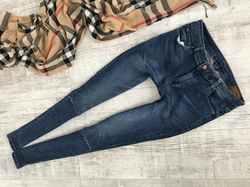 ASOS__SPODNIE jeans RURKI stretch__30/32