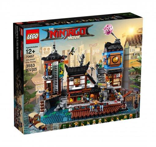 Klocki Lego Ninjago Movie 70657 Doki W Miescie 7371973505 Oficjalne Archiwum Allegro