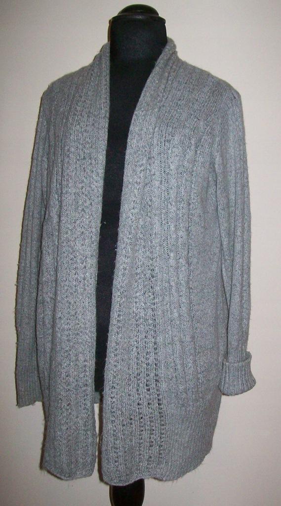 Yessica/C&A - sweter bez zapięcia - r. 48-50